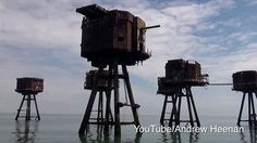 Maunsell Forts were built in the Thames estuary during the second world war to help defend the United Kingdom.