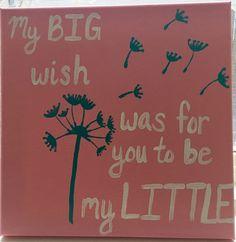 Big/Little Reveal Canvas #sorority