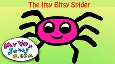 The Itsy Bitsy Spider - nursery rhymes & kids songs
