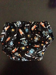 'Space Robot' Baby Boy Bloomers. $11.50 (FREE Shipping within Australia). Handmade. Find us on Facebook; BoyCot Baby.