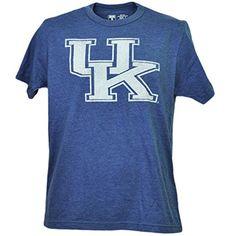 NCAA Kentucky Wildcats Distressed Logo Blue Tshirt Tee Mens Short Sleeve 3XLarge #KentuckyBasketball #bbn #kentuckybball #UofK #uk #marchmadness #ncaatourney #universityofKentucky