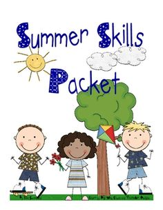 This is a summer packet to help prevent some of the learning loss that takes place with many children over the summer.  It contains an activity in ...