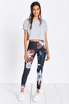 adidas Originals Lotus Print Legging