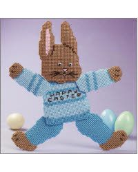 Easter Bunny (plastic canvas)