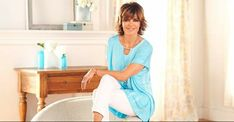 """""""Coming up in just 15 minutes on my Lisa Rinna Collection Printed Knit Top w/ Neckline Detail -"""" Lisa Rinna, Qvc, Lady, Clothes, Collection, Tops, Women, Twitter, Fashion"""