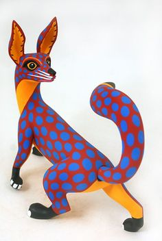 Oaxacan fox by Luis Pablo.