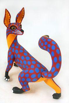 Oaxacan fox by Luis Pablo.