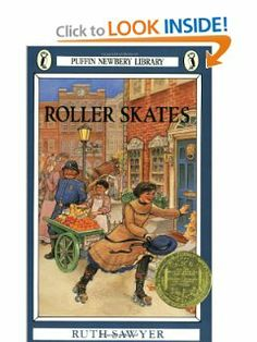 Roller Skates (A Newbery Award Book): Ruth Sawyer, Valenti Angelo: 9780140303582: Amazon.com: Books