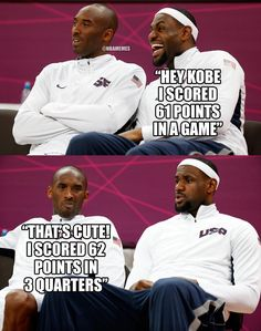 NBAMemes: Kobe Bryant vs. LeBron James!