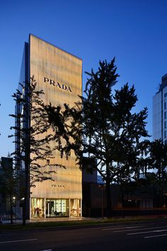 Prada flagship store by Roberto Baciocchi, Osaka   Japan