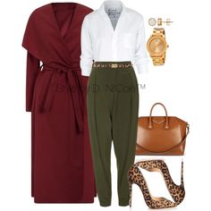 Untitled #3032 by stylebydnicole on Polyvore featuring Frank & Eileen, Topshop, Christian Louboutin, Movado, Dolce&Gabbana and Givenchy