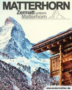 Matterhorn in Zermatt Zermatt, Some Beautiful Pictures, Das Hotel, Switzerland, Mount Everest, Around The Worlds, Mountains, Komfort, November