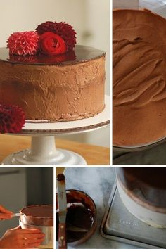 13 Ways of Looking Chocolate Mousse Cake. A showstopping cake for a special occasion. From Blossom to Stem | Because Delicious http://www.blossomtostem.net