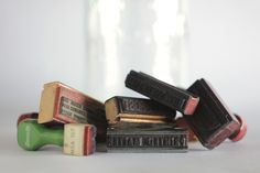 Rubber stamp (invented 1866)