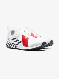 20239b7ef1738 Adidas By White Mountaineering white Terrex Two Boa lace-up sneakers  Mountaineering