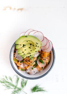 Dit recept is Aziatisch én super makkelijk. De bekende pokébowl #pokebowl #sushi