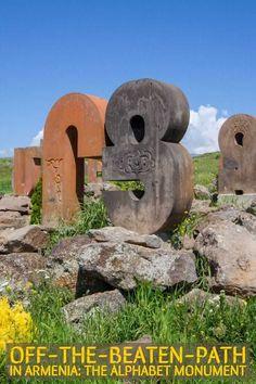 Off-the-beaten-path Armenia: Where to break the journey from Yerevan to Gyumri or Vanadzor #travel #armenia #offthebeatenpath #caucasus