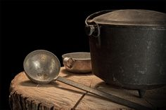 """Dutch Oven and Ladle"" still life photograph by Tom Mc Nemar"