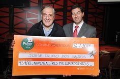 Jorge Calixto Dos Santos resultó ganador de la 8va Fecha del Conrad Poker Tour 2014