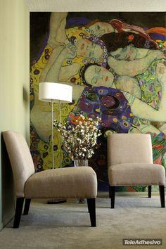 Fotomurali La vergine_Klimt