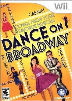 Wii - #dance on #broadway-nla - game 8gvg, View more on the LINK: http://www.zeppy.io/product/gb/2/391310556439/