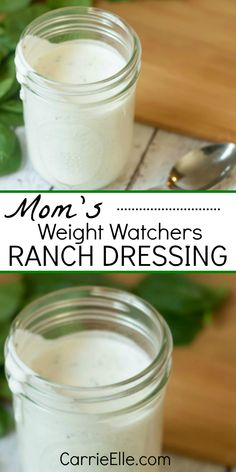 This 21 Day Fix Ranch Dressing is easy to make and tastes great.you'll love it on salads or even as a healthy dip option! It's also a 0 point WW food. Weight Watcher Dinners, Weight Watchers Points, Salade Weight Watchers, Weight Watchers Sides, Plats Weight Watchers, Weight Watchers Meal Plans, Weight Watchers Lunches, 21 Day Fix, Weight Watchers Dressing