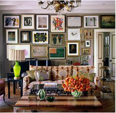#kitsch #decor #livingroom