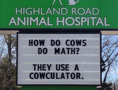 Submission to 'Funny-Veterinarian-Signs' Cute Jokes, Funny Jokes For Kids, Corny Jokes, Funny Puns, Dad Jokes, Funny Quotes, Hilarious, Cheesy Jokes, Funny Stuff
