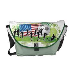 USA Soccer Commuter Bag