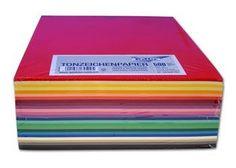Tonpapier-Sortiment Paket IV, 500 Blatt, DIN A 4 Lehrmittel-Service H.Späth GmbH LMS | Details