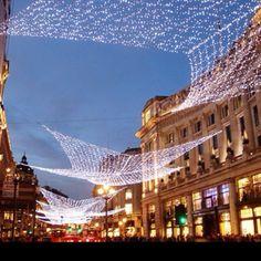 Regent St, London at #christmas