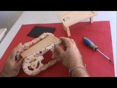 Arahal Robot gusano tijera Robot worm scissors Ramos - YouTube