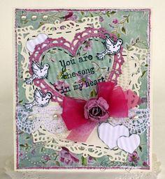 Song In My Heart *Heartfelt Creations* - Scrapbook.com