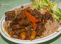 Jamaican Oxtail (Stew)