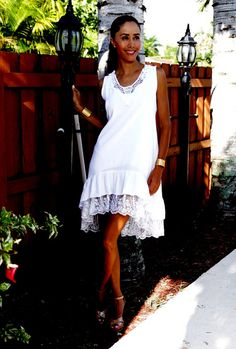 ccc5bb50794e Items similar to SALE Organic Cotton Vintage Style ARANCAYA White Crochet  Lace Shift Sundress on Etsy