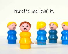 Brunette Funny Quote Photograph Print No FORTYNINE by HappyTownUSA, $6.00