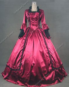 Marie Antoinette Victorian Dress Ball Gown Reenactment Theatre Costume 147  M  VictorianChoice  Dress Medieval 6938627027c7