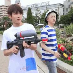 bts funny moment bagtan boys kpop jungkook x suga vs jimin x jin x jhope