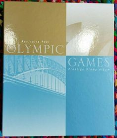 Australia 2000 Olympic Games Prestige Stamp Album Collection, MNH