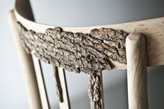 Bark on chairs.
