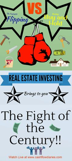 The epic battle. It it better to flip real estate or buy and hold?