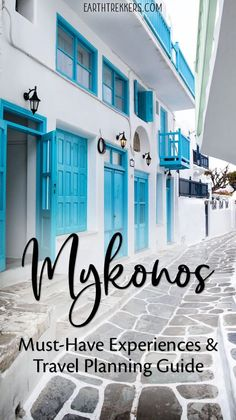 Mykonos, Greece Travel Guide. Best things to do in Mykonos, plus everything you need to know to plan the perfect visit. #mykonos #greece #travelguide