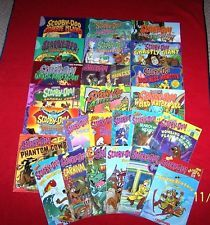25 Scooby-Doo! Kindergarten 1st 2nd grade Readers & Picture books Ages 5-8