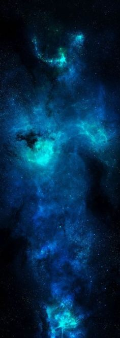 Blue Phantom Nebula: Giant among nebulas - Great woman reaching through stars - To Earth below. Cosmos, Space And Astronomy, Hubble Space, Space Telescope, To Infinity And Beyond, Deep Space, Blue Space, Milky Way, Science And Nature