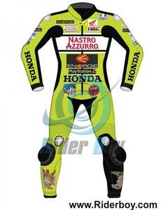 Valentino Rossi Nastro Azzurro Motorcycle Leathers