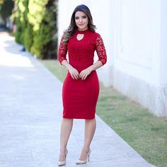 Knee Length Dresses, Tight Dresses, Dresses For Work, Nice Dresses, Girls Dresses, Skirt Outfits, Dress Skirt, Lace Dress, Dress Up