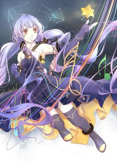 hinh stardust vocaloid - Google Search