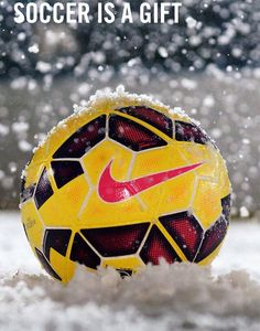 """Soccer is a gift"""