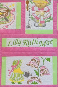 Julie Made This Adorable Quilt For Her Granddaughter Using