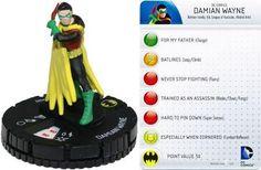 Damian Wayne #002 Batman Fast Forces DC Heroclix - Batman - HeroClix - Miniatures